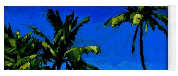 Coconut Palms 5 Yoga Mat