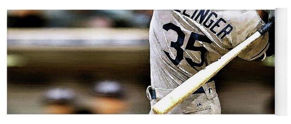Cody Bellinger, Los Angeles Dodgers Yoga Mat