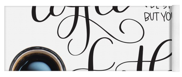 Coffee And Faith Yoga Mat