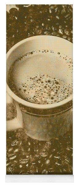 Coffee And Nostalgia Yoga Mat