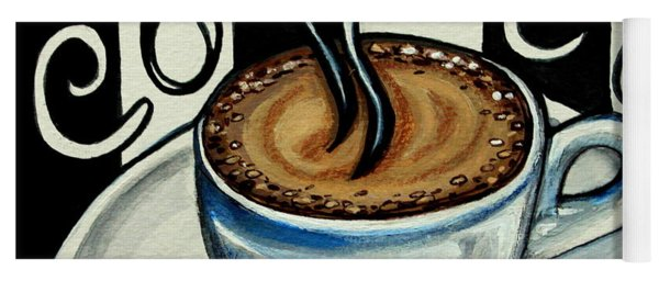 Coffee At The Cafe Yoga Mat