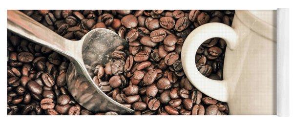Coffee Beans Yoga Mat