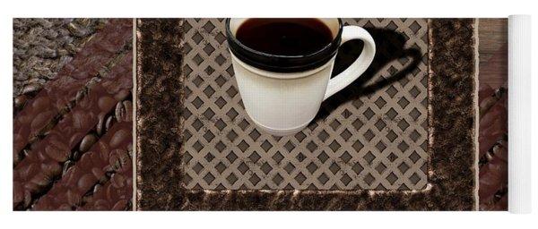 Coffee Black - Coffee Art Yoga Mat