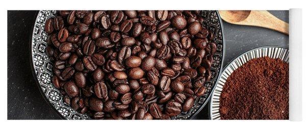 Coffee Yoga Mat