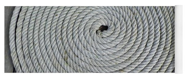 Coiled By D Hackett Yoga Mat