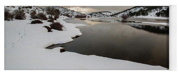 Frozen River Yoga Mat