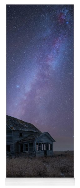 Cold Night  Yoga Mat