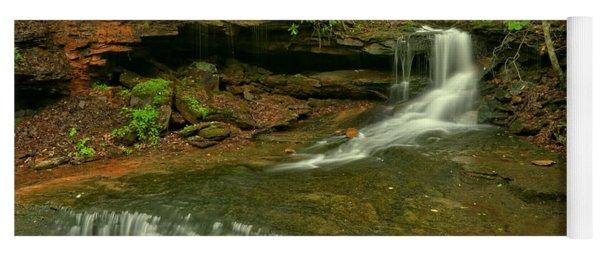 Cole Run Cave Falls Pa Yoga Mat