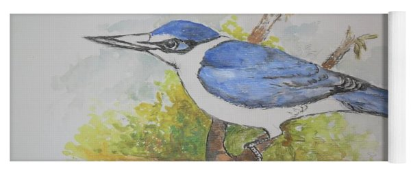 Collared Kingfisher Yoga Mat