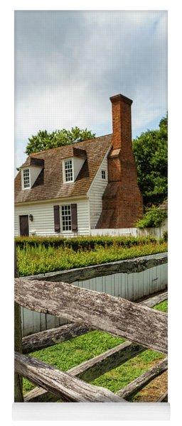 Colonial America Home Yoga Mat