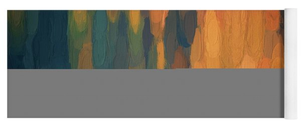 Color Abstraction L Sq Yoga Mat