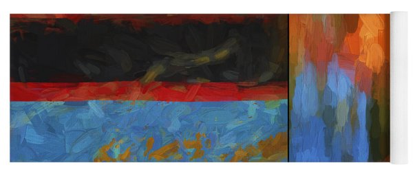 Color Abstraction Li  Yoga Mat
