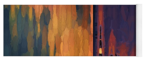 Color Abstraction Liv Yoga Mat