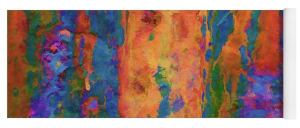 Color Abstraction Lxvi Yoga Mat