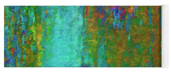 Color Abstraction Lxvii Yoga Mat