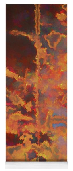 Color Abstraction Lxxi Yoga Mat