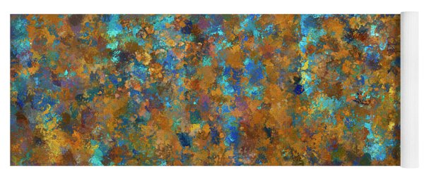 Color Abstraction Lxxiv Yoga Mat