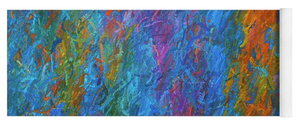 Color Abstraction Xiv Yoga Mat