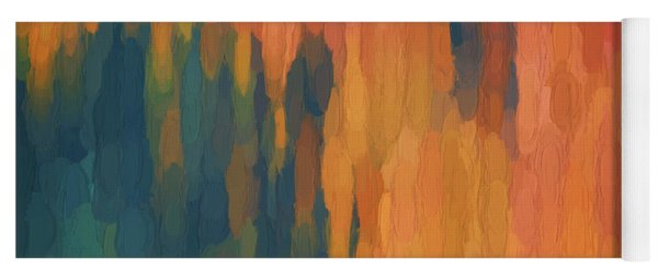 Color Abstraction Xlix Yoga Mat