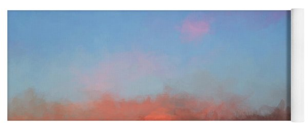 Color Abstraction Xlvii - Sunset Yoga Mat