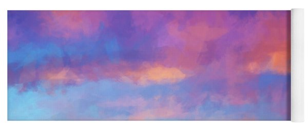 Color Abstraction Xlviii - Sunset Yoga Mat