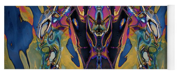 Color Abstraction Xxi Yoga Mat