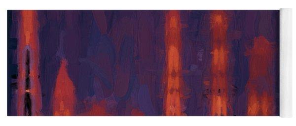 Color Abstraction Xxxviii Yoga Mat