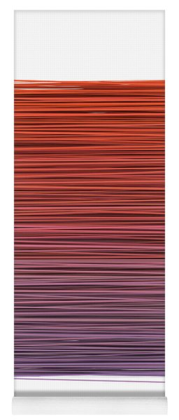 Color And Lines 3 Yoga Mat