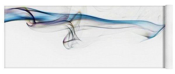 Color And Smoke V Yoga Mat