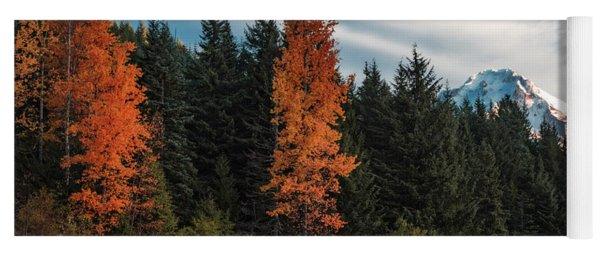 Color At Mt. Hood Yoga Mat