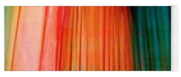 Color Bands Yoga Mat