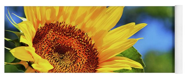 Color Me Happy Sunflower Yoga Mat