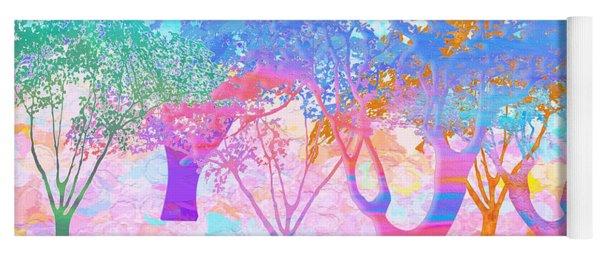 Color My World Yoga Mat