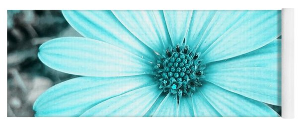 Color Trend Blue Blossom Yoga Mat