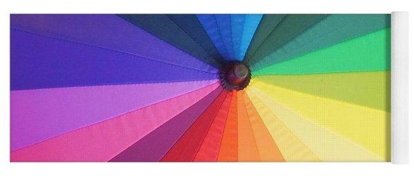 Color Wheel Yoga Mat