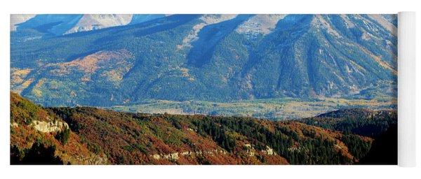 Colorado Autumn 2016 Raggeds Wilderness  Yoga Mat