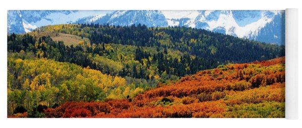 Colorado Autumn 2016 San Juan Mountains  Yoga Mat