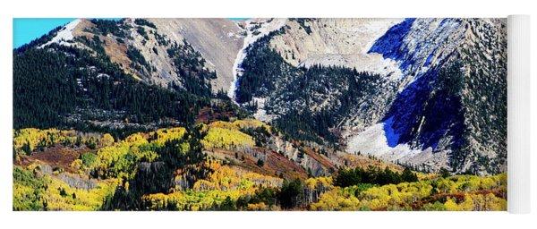 Colorado Autumn 2016 West Elk Mountains Yoga Mat