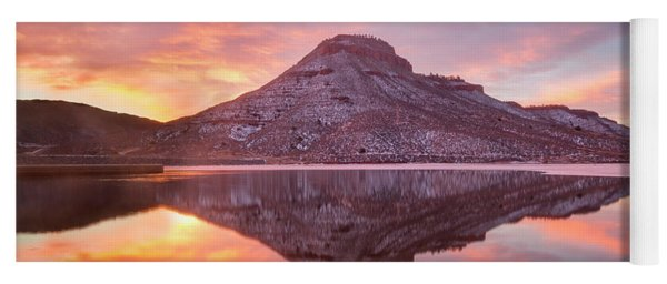 Colorado Butte Sunrise Yoga Mat