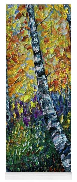 Glimpses Of Colorado Fall Colors Yoga Mat