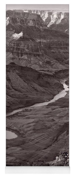 Colorado River At Desert View Grand Canyon Yoga Mat