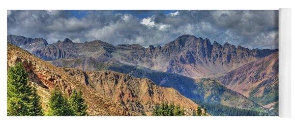 Colorado Rocky Mountains Yoga Mat