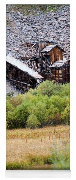 Colorado Silver Mine  Yoga Mat