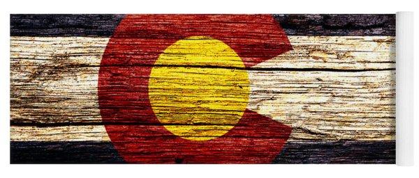 Colorado State Flag 5w Yoga Mat