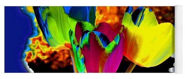 Colorez Votre Monde Avec Tulipes Yoga Mat