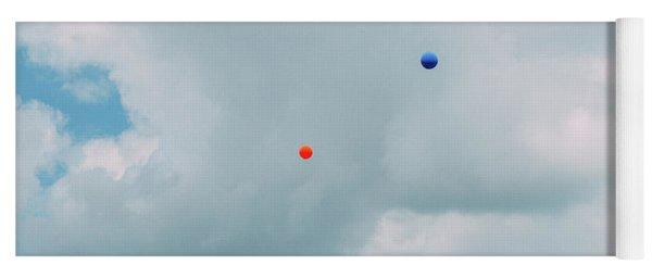 Colorful Balloons  Yoga Mat
