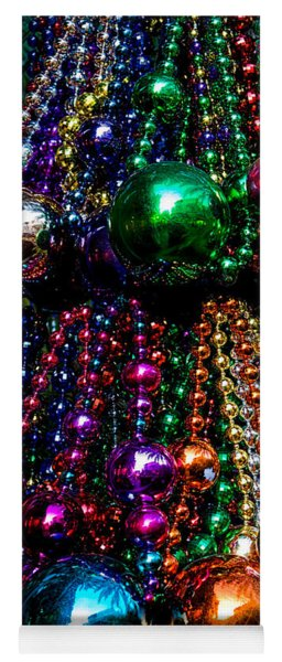Yoga Mat featuring the photograph Colorful Baubles by Christopher Holmes