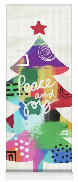 Colorful Christmas Tree- Art By Linda Woods Yoga Mat