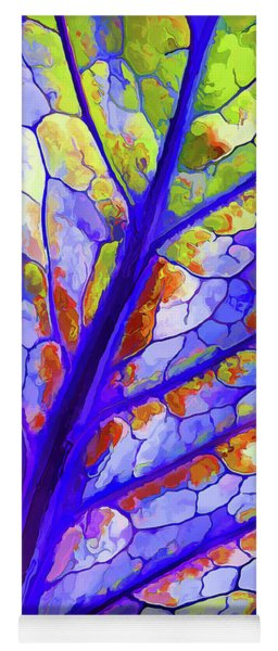 Colorful Coleus Abstract 6 Yoga Mat