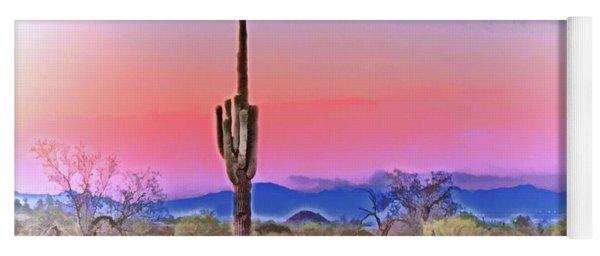 Colorful Desert Yoga Mat